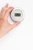 数字式用手控制气候的温箱 库存图片