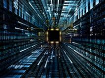 数字式电路 免版税图库摄影