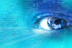 数字式眼睛 免版税图库摄影