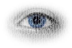 数字式眼睛 免版税库存照片