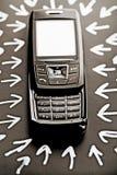 数字式移动电话 库存照片