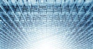 数字式结构 库存图片