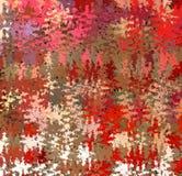 数字式绘画摘要五颜六色的混乱飞溅声油漆在充满活力的明亮的淡色背景中 库存例证