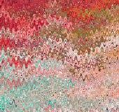 数字式绘画摘要水彩油漆混乱波浪背景 库存例证