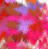 数字式绘画摘要混乱飞溅声油漆在五颜六色的充满活力的明亮的淡色背景中 皇族释放例证