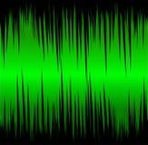 数字式绿色波浪 向量例证
