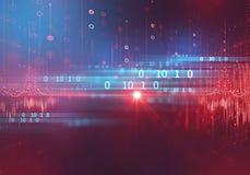 数字式编码号摘要技术背景 向量例证