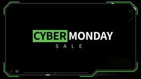 数字式网络星期一销售引起的录影  股票视频