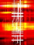 数字式背景数据 库存例证