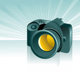数字式背景照相机 免版税库存图片