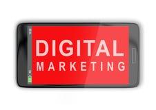 数字式营销概念 图库摄影