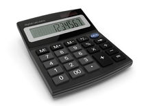 数字式计算器 向量例证