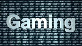 数字式赌博 库存图片