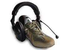 数字式运动鞋 免版税库存图片