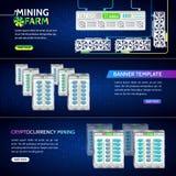 数字式金钱 高科技技术传染媒介例证 免版税图库摄影