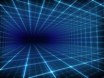数字式隧道 向量例证