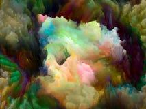数字式颜色的形象化 免版税库存照片