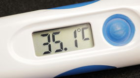 数字式医疗温度计 股票视频
