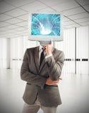 数字式头脑 免版税图库摄影