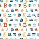 数字式bitcoin电子cryptocurrency 免版税图库摄影