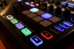 数字式DJ 免版税库存图片