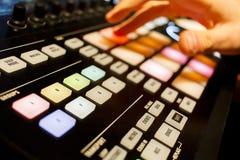 数字式DJ 库存照片
