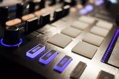 数字式DJ 免版税库存照片