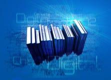 数字式ebooks 库存照片