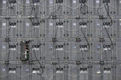 数字式LED盘区后侧方  免版税库存照片
