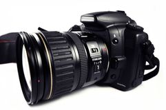 数字式SLR照相机 库存图片