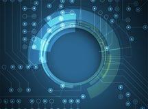 数字技术世界 企业真正概念 传染媒介backg 免版税库存照片