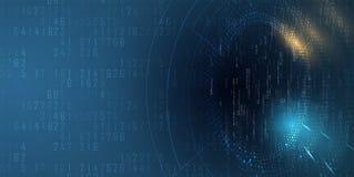 数字技术世界 企业真正概念 传染媒介backg 免版税库存图片