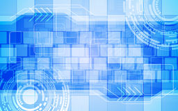 数字技术创新概念摘要背景长方形样式 库存照片