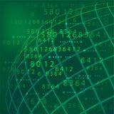 数字技术背景 免版税图库摄影