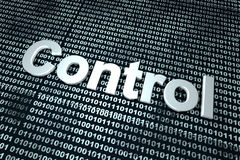 数字控制 免版税库存图片