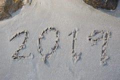数字新年 免版税图库摄影