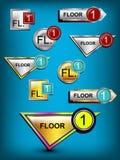 数字标志 免版税图库摄影