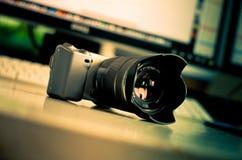 数字照相机 免版税库存图片