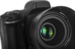 黑数字照相机 图库摄影