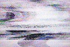 数字电视噪声 图库摄影