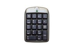 数字的键盘 免版税库存照片