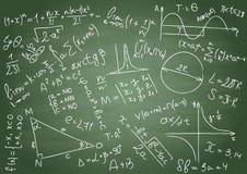 数学公式 免版税库存图片