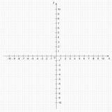数学坐标系的例证 免版税库存图片