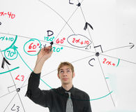 数学家 免版税库存照片