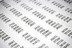 数学桌。算术教育概念。 免版税库存照片