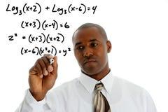 数学老师 免版税图库摄影