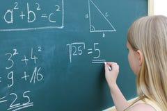 数学 免版税库存图片