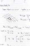 数学 免版税库存照片