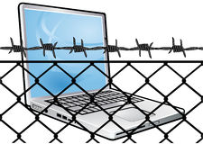 数据保密性保护 库存照片