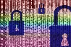 数据保密设计 免版税库存图片
